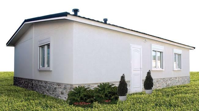 Casa prefabricada VTR 60m² gama ECO/CTE