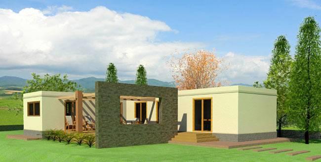 Casa prefabricada QKB 130 m²