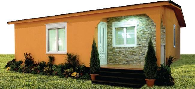 Casa prefabricada RND 70m² gama ECO/ CTE