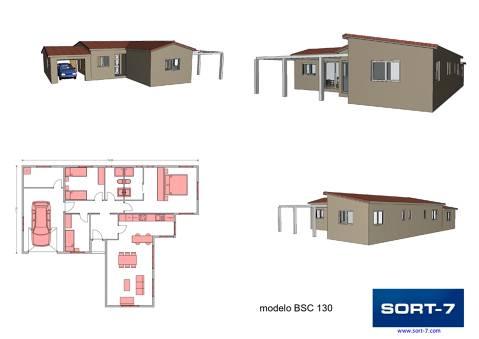Modelo BSC 130m²