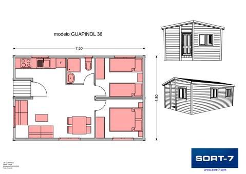 Modelo 36m² Guapinol