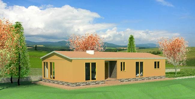Casa prefabricada MRD 120 m²