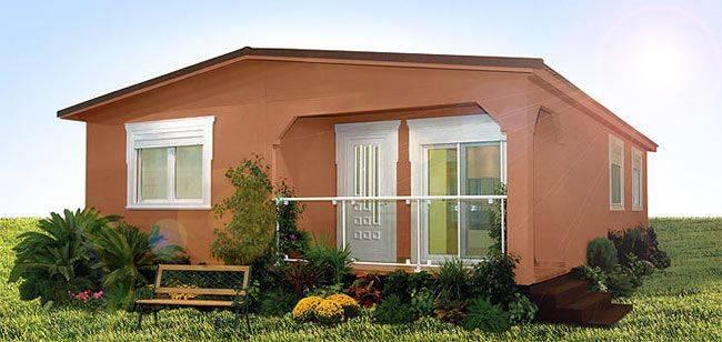Casa prefabricada ALH 92m² gama ECO/ CTE