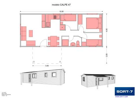 Modelo 47m² Calpe