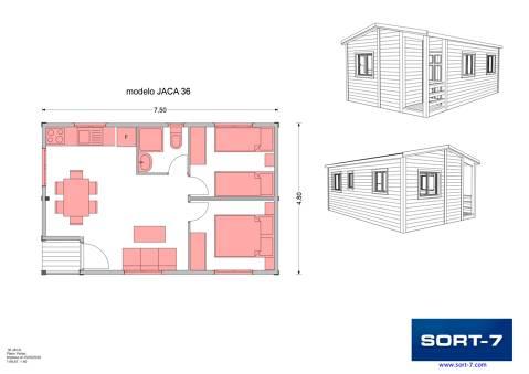Modelo 36m² Jaca