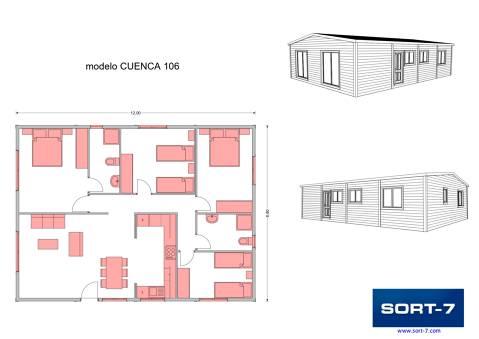Modelo 106m² Cuenca